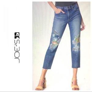 Joe's Jeans the Debbie Natalya Crop Ankle Jeans 29